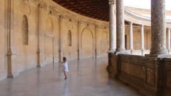 Running amok in el Palacio de Carlos V