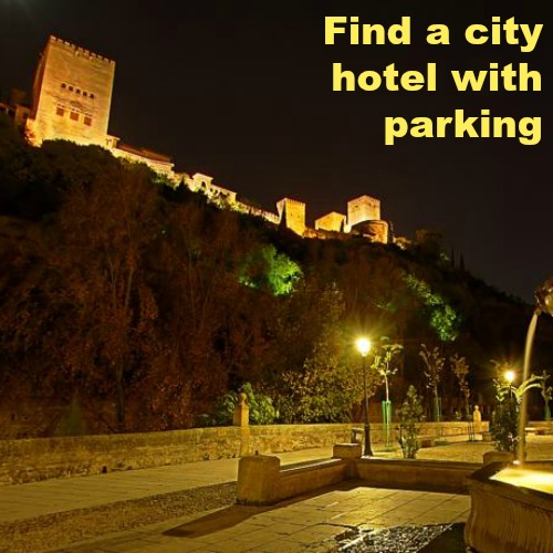 hotels with parking in Granada