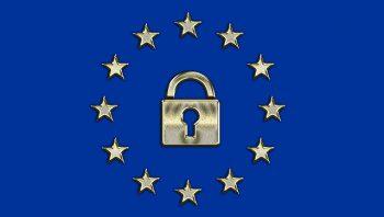 GDPR image of EU Flag